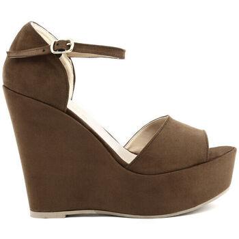 Schoenen Dames Sandalen / Open schoenen Made In Italia - beniamina Bruin