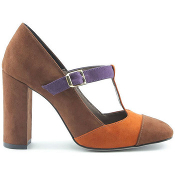 Schoenen Dames pumps Made In Italia - giorgia Bruin