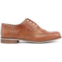 Schoenen Dames Derby Made In Italia - teorema Bruin