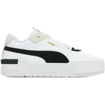Schoenen Dames Lage sneakers Puma Cali Sport Heritage Wn's Wit