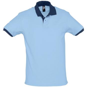 Textiel Heren Polo's korte mouwen Sols PRINCE COLORS Azul