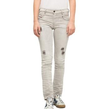 Textiel Dames Skinny jeans Diesel  Grijs