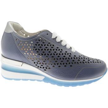 Schoenen Dames Lage sneakers Calzaturificio Loren CLORA1041bl blu