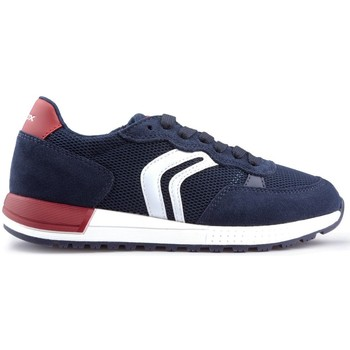 Schoenen Kinderen Lage sneakers Geox ALBEN SUM schoenen NAVY
