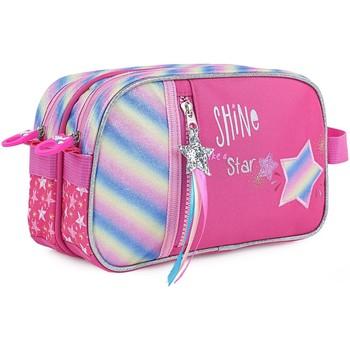 Tassen Meisjes Etuis Skpat SHINE ALS een STAR Fabric Fantasy Fuchsia