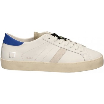 Schoenen Heren Lage sneakers Date HILL LOW CALF bianco-blu