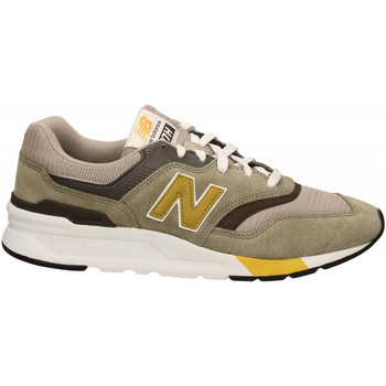Schoenen Heren Lage sneakers New Balance NB LIFESTYLE SUEDE/ MESH green-gold
