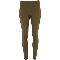 Textiel Dames Leggings Tridri TR031 Olijf