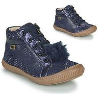 Schoenen Meisjes Hoge sneakers GBB ISAURE Blauw