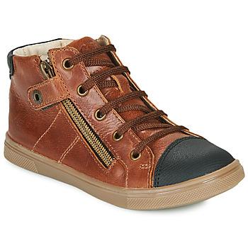Schoenen Jongens Hoge sneakers GBB KAMIL Bruin