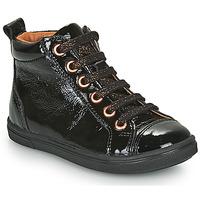 Schoenen Meisjes Hoge sneakers GBB INNA Zwart