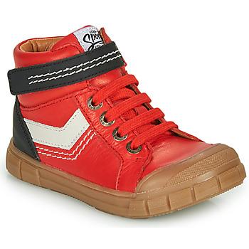 Schoenen Jongens Hoge sneakers GBB BAO Rood