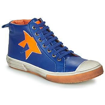 Schoenen Jongens Hoge sneakers GBB OCALIAN Blauw