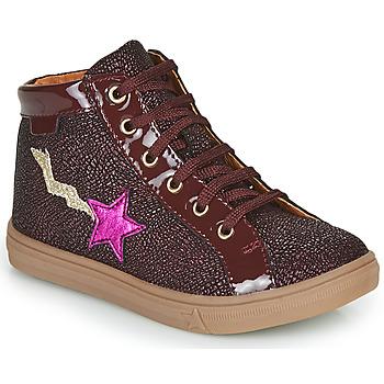 Schoenen Meisjes Hoge sneakers GBB TADEA Bordeau