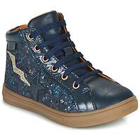 Schoenen Meisjes Hoge sneakers GBB TADEA Blauw