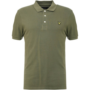 Textiel Heren Polo's korte mouwen Lyle & Scott Slim Stretch Polo Shirt Groen