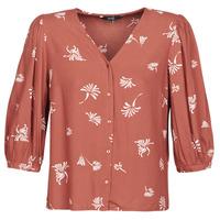 Textiel Dames Overhemden Vero Moda VMJILLEY Bordeau