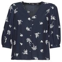 Textiel Dames Overhemden Vero Moda VMJILLEY Marine