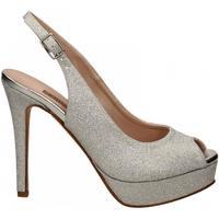Schoenen Dames Sandalen / Open schoenen Albano MESH argento