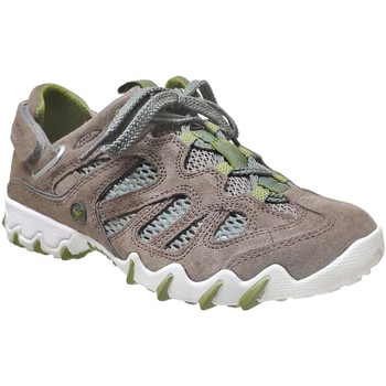 Schoenen Dames Lage sneakers Allrounder by Mephisto NIWA Fluweel Taupe