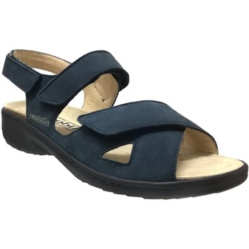 Schoenen Dames Sandalen / Open schoenen Mobils By Mephisto Geryna Marineblauw nubuck