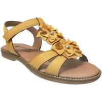 Schoenen Dames Sandalen / Open schoenen Remonte Dorndorf D3658 Geel