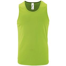 Textiel Heren Mouwloze tops Sols SPORT TT MEN Verde