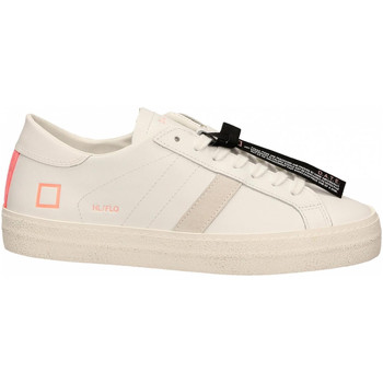 Schoenen Dames Lage sneakers Date HILL LOW FLUO bianco-corallo