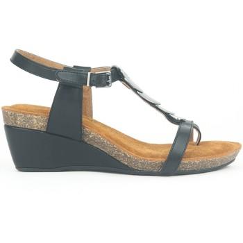 Schoenen Dames Sandalen / Open schoenen Chattawak Petit Talon 9-MILA Noir Zwart