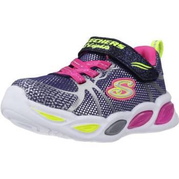 Schoenen Meisjes Lage sneakers Skechers SHIMMER BEAMS-SPORTY GLOW Blauw
