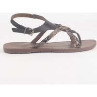Schoenen Dames Sandalen / Open schoenen Chattawak Sandale  9-PATOU  CHOCO Bruin