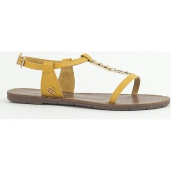 Schoenen Dames Sandalen / Open schoenen Chattawak Sandale 9-PETUNIA Jaune Geel