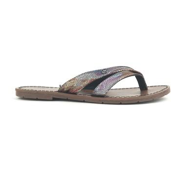 Schoenen Dames Sandalen / Open schoenen Chattawak Tong 9-KALINDA Noir Zwart