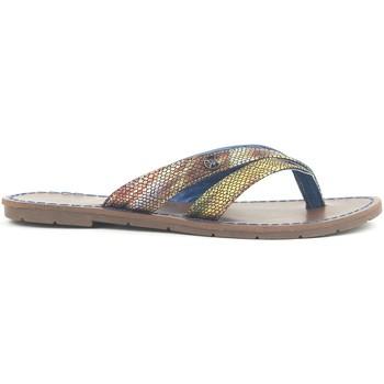 Schoenen Dames Sandalen / Open schoenen Chattawak Tong 9-KALINDA Bleu Blauw