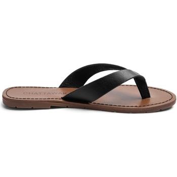 Schoenen Dames Teenslippers Chattawak Sandale  9-TANGO Noir Zwart