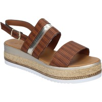 Schoenen Dames Sandalen / Open schoenen Sara sandali pelle sintetica Marrone