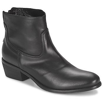 Schoenen Dames Laarzen Meline SOFMET Zwart