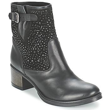 Schoenen Dames Enkellaarzen Meline NERCRO Zwart
