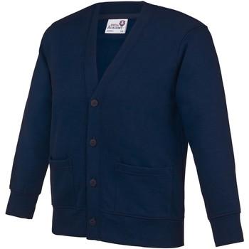 Textiel Kinderen Vesten / Cardigans Awdis  Marine