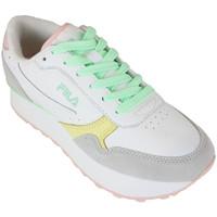 Schoenen Dames Lage sneakers Fila orbit zeppa cb wmn white/green ash Wit