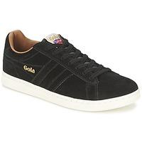 Schoenen Heren Lage sneakers Gola EQUIPE SUEDE Zwart
