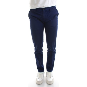 Textiel Heren Chino's Re-hash P249-2389 Blue