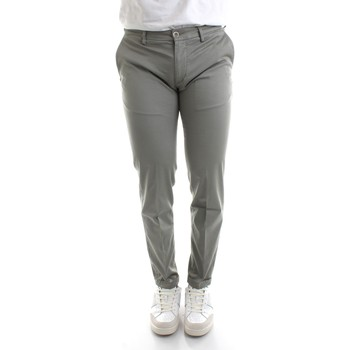 Textiel Heren Chino's Re-hash P249-2389 Grey