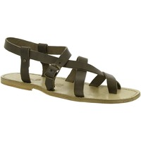 Schoenen Dames Sandalen / Open schoenen Gianluca - L'artigiano Del Cuoio 530 U FANGO CUOIO Fango