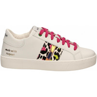 Schoenen Dames Lage sneakers Womsh KINGSTON white-fuxia-lemon