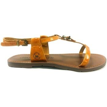 Schoenen Dames Sandalen / Open schoenen Chattawak Sandale 9-ZHOE Jaune Geel