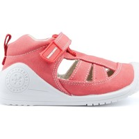 Schoenen Kinderen Sandalen / Open schoenen Biomecanics Sandalen  CANVAS BABY AZAI RED