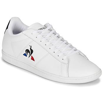Schoenen Lage sneakers Le Coq Sportif COURTSET Wit / Marine