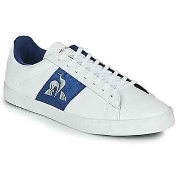 Schoenen Dames Lage sneakers Le Coq Sportif ELSA Wit / Blauw