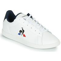 Schoenen Kinderen Lage sneakers Le Coq Sportif COURTSET JUNIOR Wit / Blauw